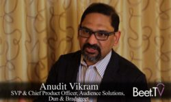 B2B Needs Customer Data, Too: D&B's Vikram