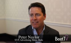 Hulu's Naylor: Future Of TV A Mix Of On-Demand And Live Programming