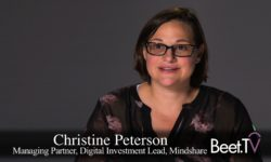Mass Or Precision Targeted, Data Is Key: Mindshare's Peterson