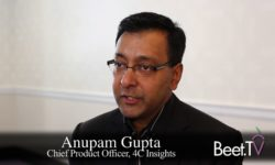 Smart TV Data + First Party Data is Driving Advanced TV Transformation: 4C's Gupta