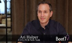 FCB's Halper: Onus On Brands To Create Entertaining Content
