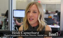 MediaCom's Capnerhurst on NewFronts' Purpose