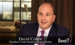 Technology 'Moving The Conversation' From Addressable To OTT: Magna's Cohen