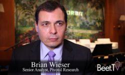 Advanced TV Won't Grow TV Ad Spend: Pivotal's Wieser