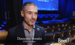 """""""We will be an advertising platform for the converged world,"""" Amobee COO Domenic Venuto"""