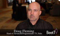 Hulu Embraces Automation, Carefully: Fleming