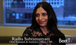 """CBS Wants Data to """"Speak to Each Other,"""" Research Head Subramanyam"""