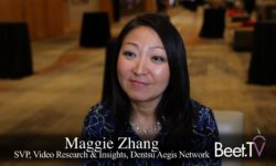 For Dentsu Aegis Group's Zhang, It's All About More Attribution, Fewer Pixels