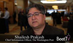 Washington Post Rides Amazon's AWS Elemental To Serve Broadcast: Prakash