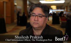 AI Could Be Utopia Or Dystopia: Washington Post's Top Tech Exec Prakash