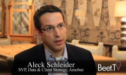 Amobee's Schleider: Connected TV Filling Linear Addressable Gap