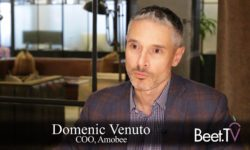 Converged At Cannes: Amobee's Venuto On TV Data